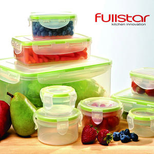 Fullstar Plastic Box Lunchbox Food Container 9 PCS kitchen