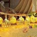 Año nuevo Garland Guirlande Lumineuse Led Luces de Navidad Luces De Navidad Al Aire Libre Luces de colores LED String Kerstverlichting Lámpara