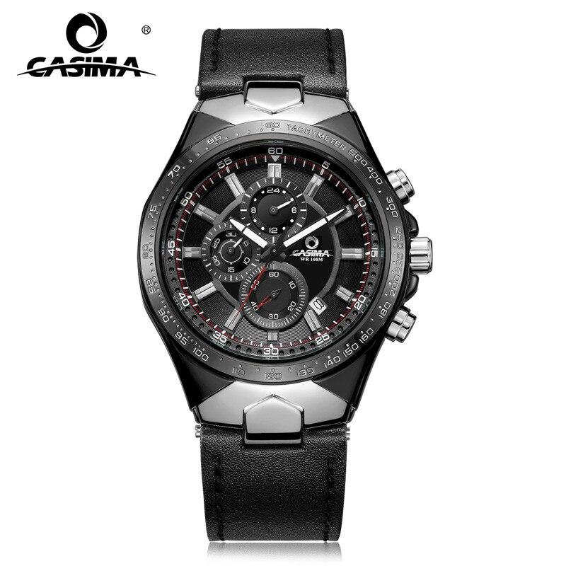 Fashion Luxury Brand Watches Men Sports Table Luminous Multifunction Racing Mens Quartz Wrist Watch Waterproof 100m CASIMA#8880