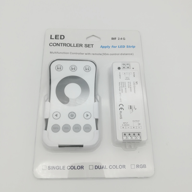 Aufstrebend Neue Led Dimmer Controller 12 V Rf Dimmer Wireless Remote Dc5-36v Cv Konstante Spannung Empfänger Led 5050 3528 Streifen Dimmen V1 R6-1 Licht & Beleuchtung