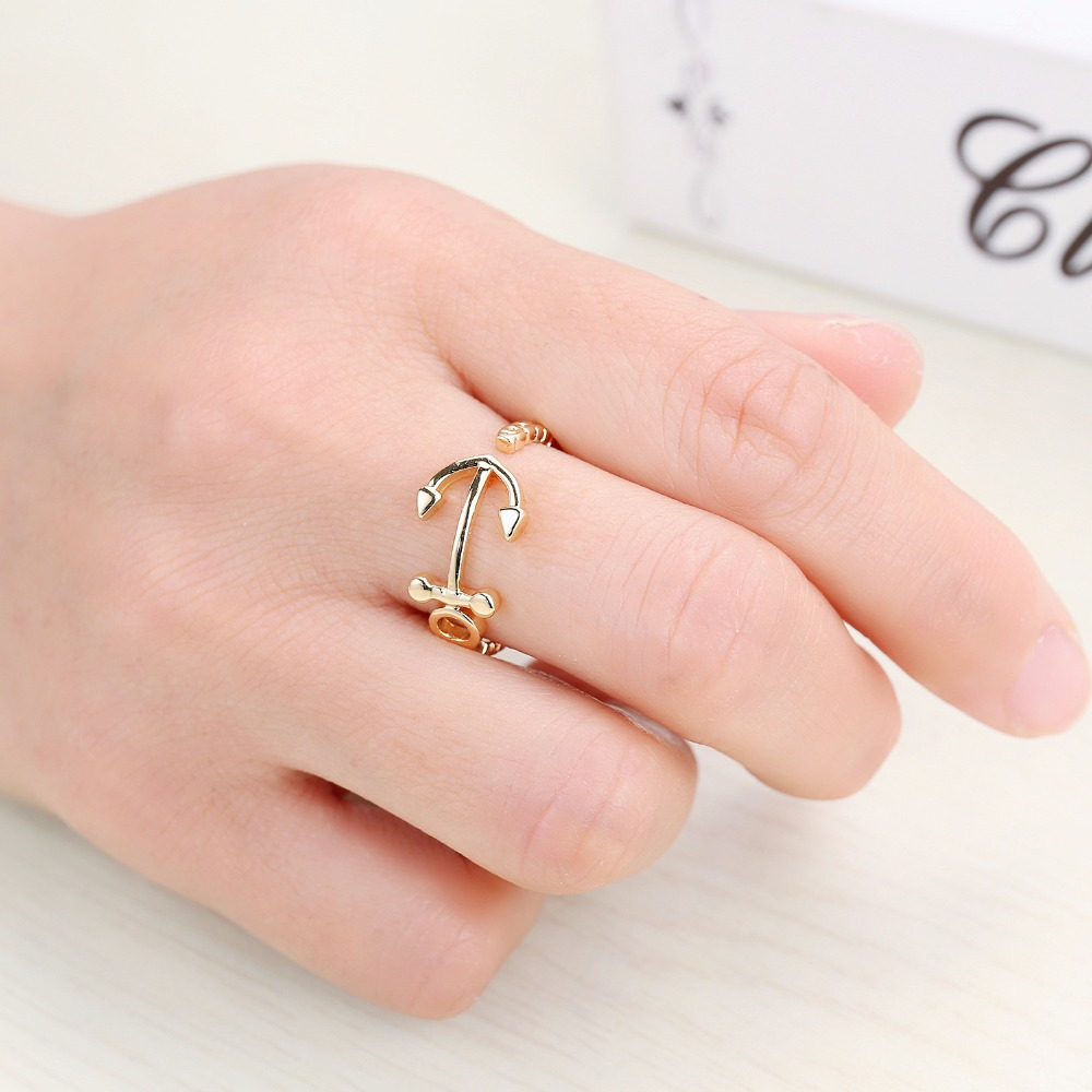Aliexpress.com : Buy aneis feminino Fashion Simple Design Adjustable ...