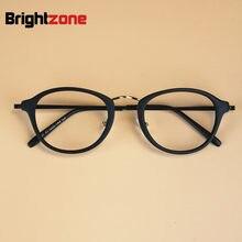 Coreano Da Forma Das Mulheres Retro Rodada Pequeno Quadro TR90 Óculos de Leitura  Óculos de Armação 9824a980c3