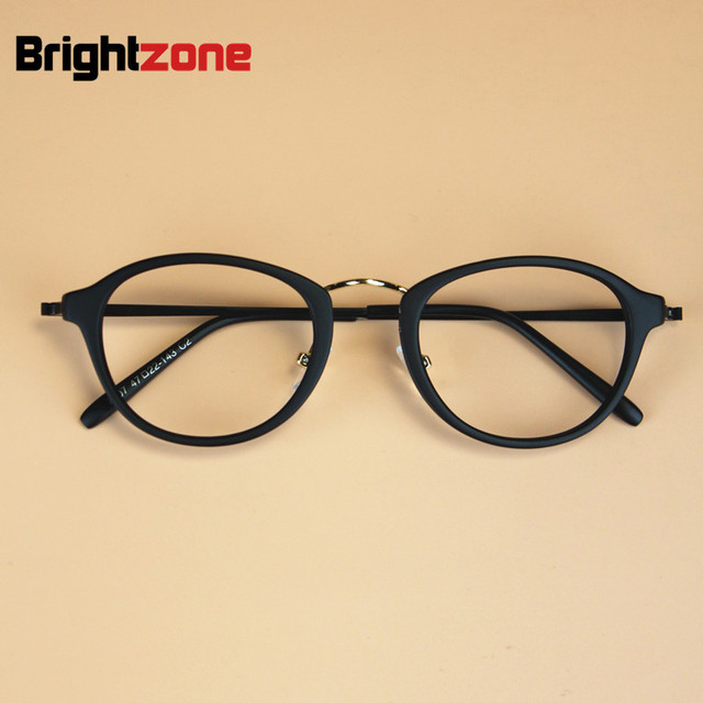 802a132c2dd Korean Women Fashion Retro Round Small Frame Computer Eyeglasses Female TR90  Reading Glasses Eyewear Frame Plain
