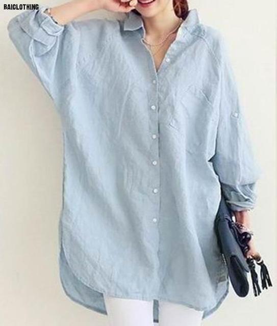6c751dc115 Japanese small fresh summer sun protection clothing loose cotton collar  shirt sleeve linen shirt female shirt Linen Clothing 3