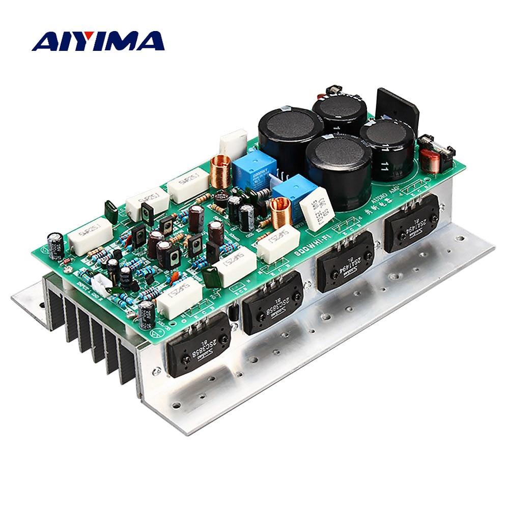 AIYIMA SanKen1494 3858 HIFI Audio Amplifier Board 450W 450W Stereo AMP Mono 800W High Power Amplifier
