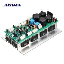Placa amplificadora de áudio aiyima sanken1494/3858 hifi, 450w + 450w, stereo, amp mono 800w de alta potência placa do amplificador,