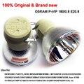 Osram p vip-180 (190)/0.8 e20.8 lâmpada do projetor lâmpada 100% original & brand new usado para benq w1000/w1000 +, viewsonic, ace projetor