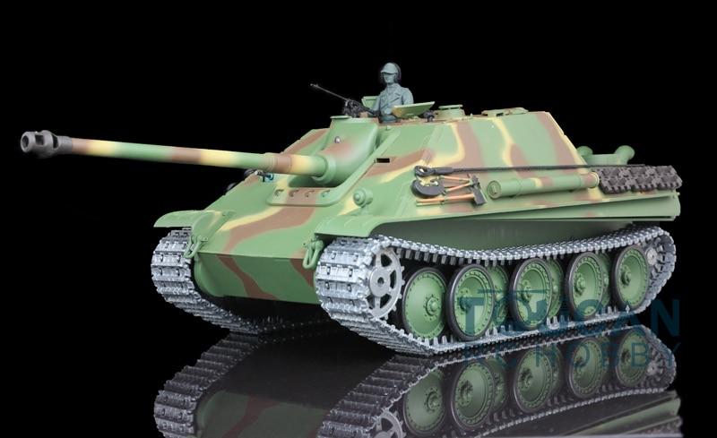 HengLong 1/16 Scale Upgraded Metal Version German Cheetah RC RTR Tank Model 3869 henglong 1 16 german cheetah panther g rc tank 3869 3879 metal road wheels w suspension bars