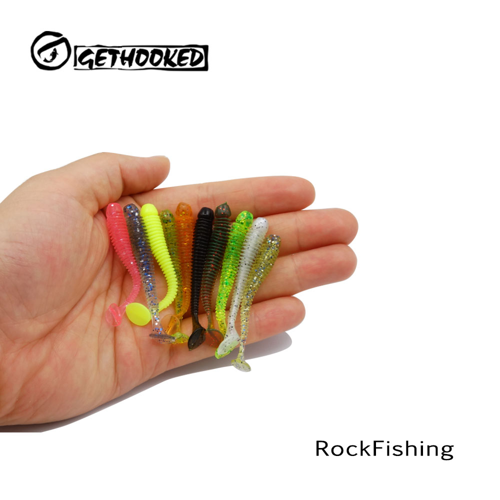 Soft Lure 10pcs 5cm~5.5cm For Artificial Bait Japan Shad Fly Fishing Silicon Rubber Fish Peche Paddle Tail Fishing Lure fish king 1pc 8pc bags mepps spoon 8 colors weight 20g 30g hook 2 3 artificial bait 10 5cm 12 0cm fishing lure for fish