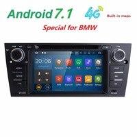 Android7.1/2G RAM/16G ROM/4 Rdzenia/2Din Dla BMW E90 Szybka Rozruchu Samochodu Odtwarzacz Multimedialny DVD Autoradio Pojemnościowy Ekran Dotykowy HD DVR SWC