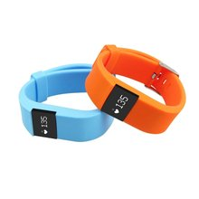 waterproof TW64S Heart Rate Monitor SmartBand Smartwatch Sport Smart Wristband Health Fitness Tracker for ios android iphone