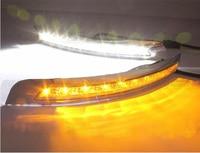 1 Set bumper lamp For Volvo XC90 DRL LED Daytime Running Lights 2007~2014year headlight xc90 Daylight 12V ABS Fog XC 90