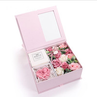 Exquisite Artificial Flowers Gift Box Handmade Soap Rose Flower Valentine's Day Gift Birthday Gifts Case