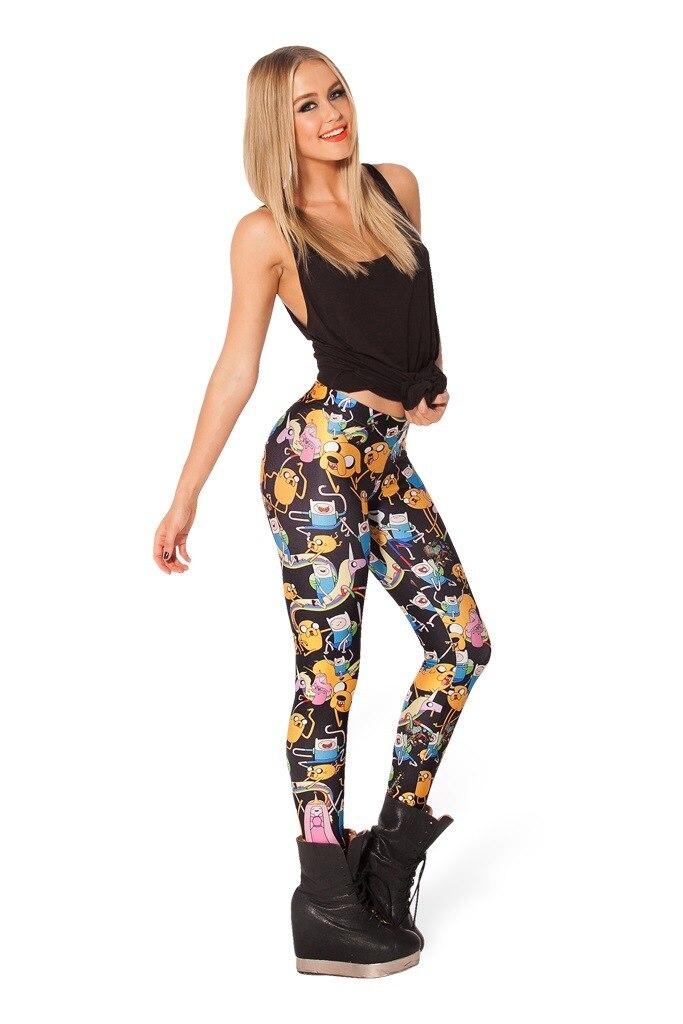 vrouwen digitale 3D-geprinte broek Woah Dude 2.0 HWMF Legging merk - Dameskleding - Foto 5