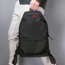 Casual laptop travel backpack for men waterproof school bag fashion men's bags U