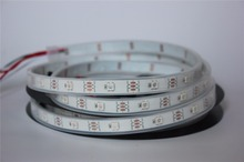 5m/lot white  PCB  DC5V WS2812B led pixel srip,IP68,30pcs WS2812B/M with 30pixels,waterproof in silicon tube
