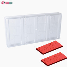 SHENHONG High Quality Chocolate Mold Polycarbonate Mould PC Fancy Bars Baking Molds Candy