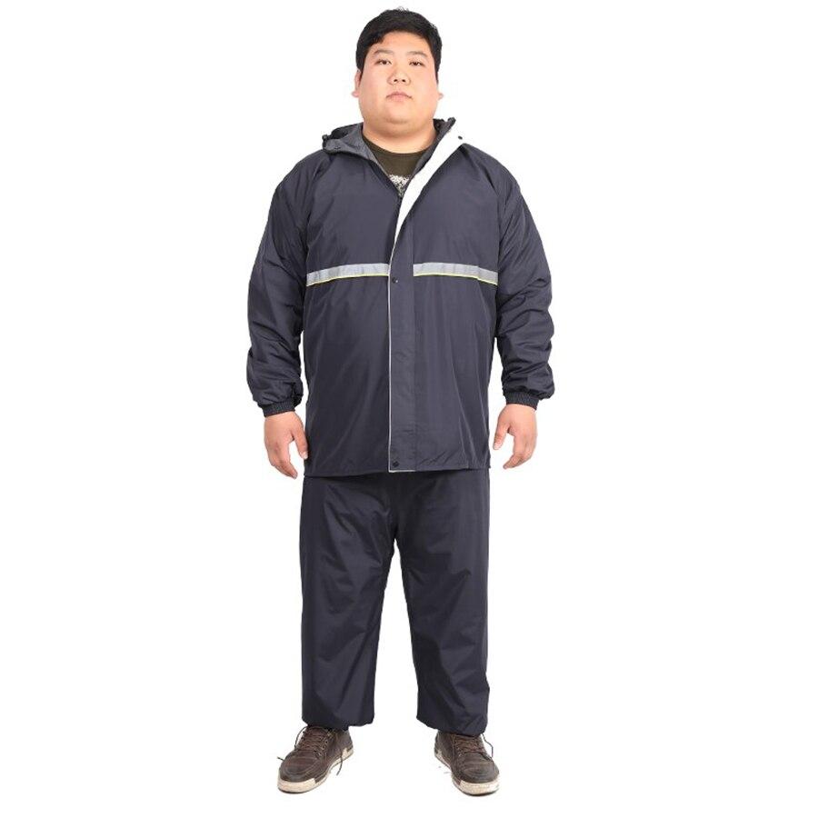 2aa8c98d319 Mens Hooded Plus Size Raincoat Vetements Travel Coat Men Suit Cover Rain  Poncho Hat Cape Gear