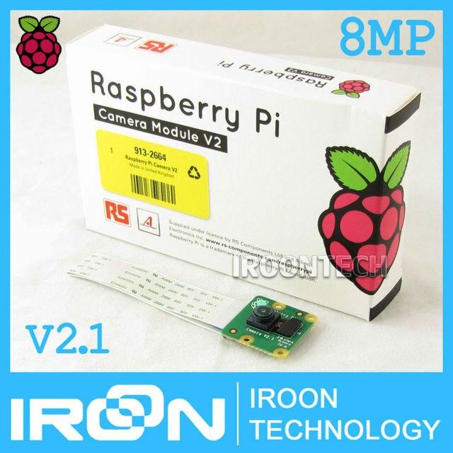 V2.1 D'origine 8MP Framboise Pi 3 module de Caméra 8 mégapixels IMX219PQ capteur 8MP Raspberry pi caméra soutien 1080 P 720 P de VGA90