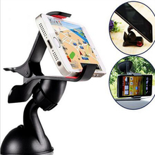 360 degree Black and white car magnet mini-phone holder Sticky Suck Cell Phone Support  For iPhone 5S  4S MP3 iPod GPS Samsung