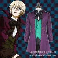 Anime Black Butler 2 Earl Alois Trancy Party Anzug Cosplay Kostüm X001