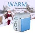 Auto Del Coche Mini Nevera portátil 12 V 7.5L Refrigerador Viajes Mantener la Comida Caliente de Calidad ABS Multifunción Inicio Refrigerador congelador Calentador