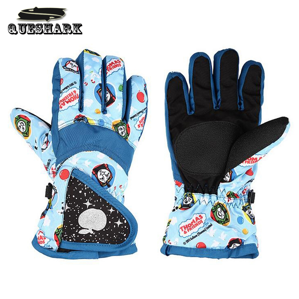 Children Girls Boys Winter Skiing Gloves Bike Cycling