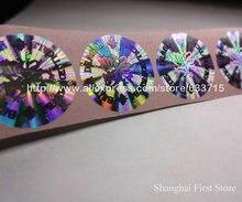 FREE DESIGN custom made hologram label sticker printing