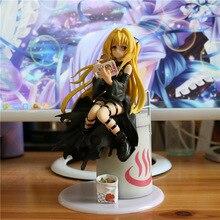 21cm nova chegada anime figura de ação para amar ru escuridão eve yami eatting ver mar bream queimado vestido preto modelo coleção boneca
