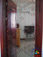 2014 Fashion Hanging Bead Door Curtain Wooden Bead Door Screen Feng Shui Bead Curtain Wooden Bead