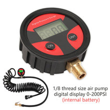 0-200PSI Digital Car Tyre Tire Air Pressure Gauge LCD Display Manometer Tester for Car Truck Motorcycle Bike