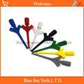 Тестовый крюк с коннектором  провод-мультиметр  комплект проводов SMD  IC  кабель для щупа  Seven color