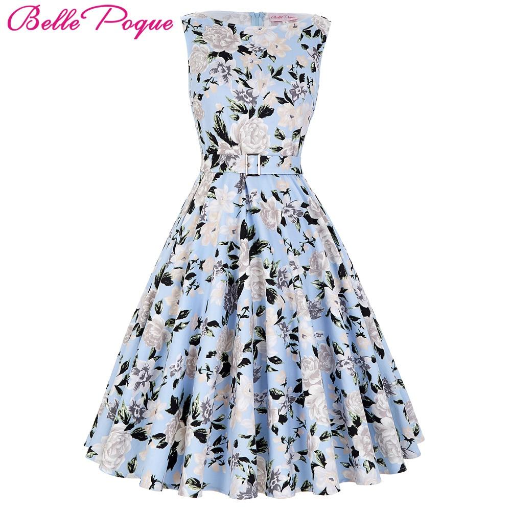2017 mujeres del verano audrey hepburn dress vestidos sin mangas polka dot ropa