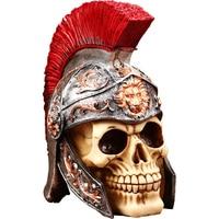 Nordic retro creative bar decorations ornaments skull model desktop furnishings