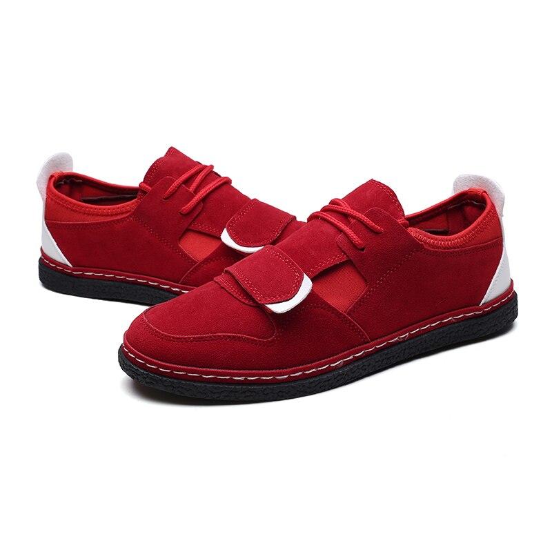 Casual Hommes Doux Troupeau rouge Up Semelle Légère Printemps Chaussures Epos Hombre Noir Adulte Lace Gram Automne Conseil Confortable BedorCx