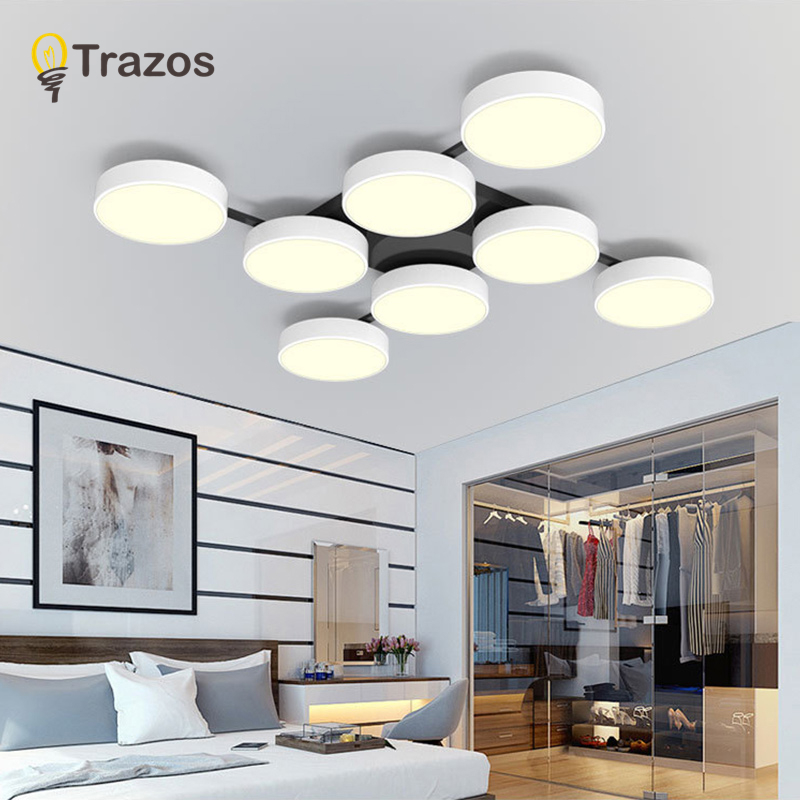 Modern LED Ceiling Lamps lampara techo For kids room Kitchen Living room Acrylic Ceiling Lighting plafonnier Lighting Fixtures все цены