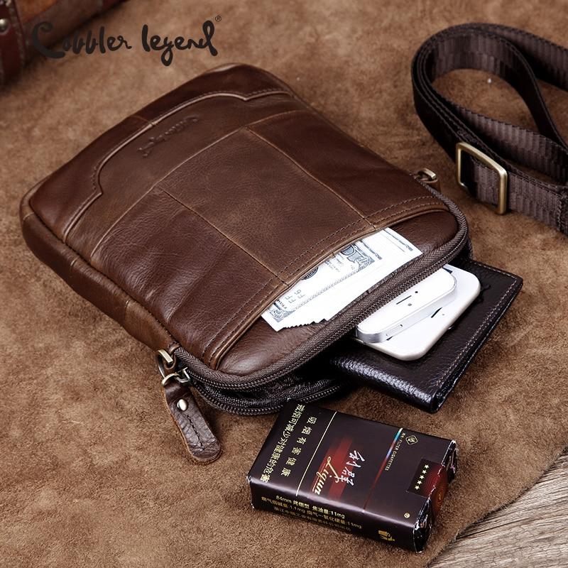Cobbler Legend Famous Brand Messenger Bag For Men Men's Shoulder Bag