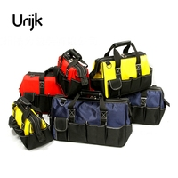 Urijk Large Outdoor Network Electrician Repairing Oxford Tool Bag Multifunction Waterproof Wearable Strap Thickening Hot Sale