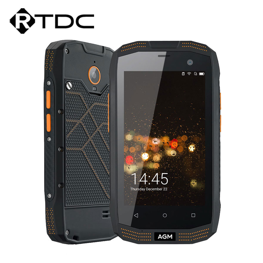 AGM A2 16GB-ROM 2GB Quad Core New Mobile-Phone Nfc Otg Qualcomm Ip68 Waterproof Android