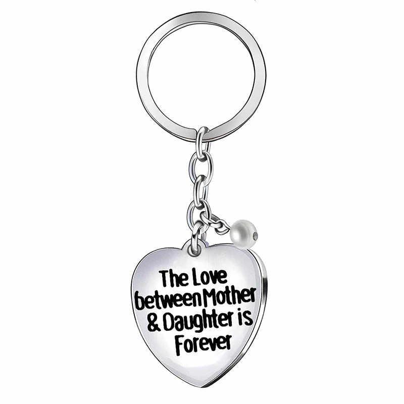XIAOJINGLING, модные Семейные Аксессуары для ключей, металлические брелки, подарки на день матери, брелки для мамы, мамы, женщины, Jwelry
