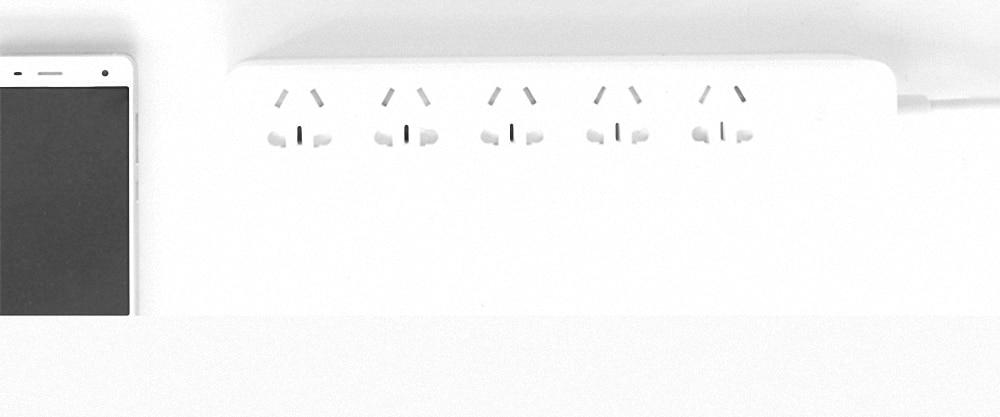 Original Xiaomi Qingmi Smart Home Power Strip 35 Ports 3 USB Fast Charging5 Jacks Extension Socket Plug WiFi Mijia APP Remote (12)