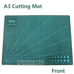 A3 قطع لوحة مزدوجة الوجه ورقة الأبيض الأساسية طبقة قطع حصيرة مصممة لكل من السكاكين الدوارة والمنفعة ؛ 45 سنتيمتر x 30 سنتيمتر