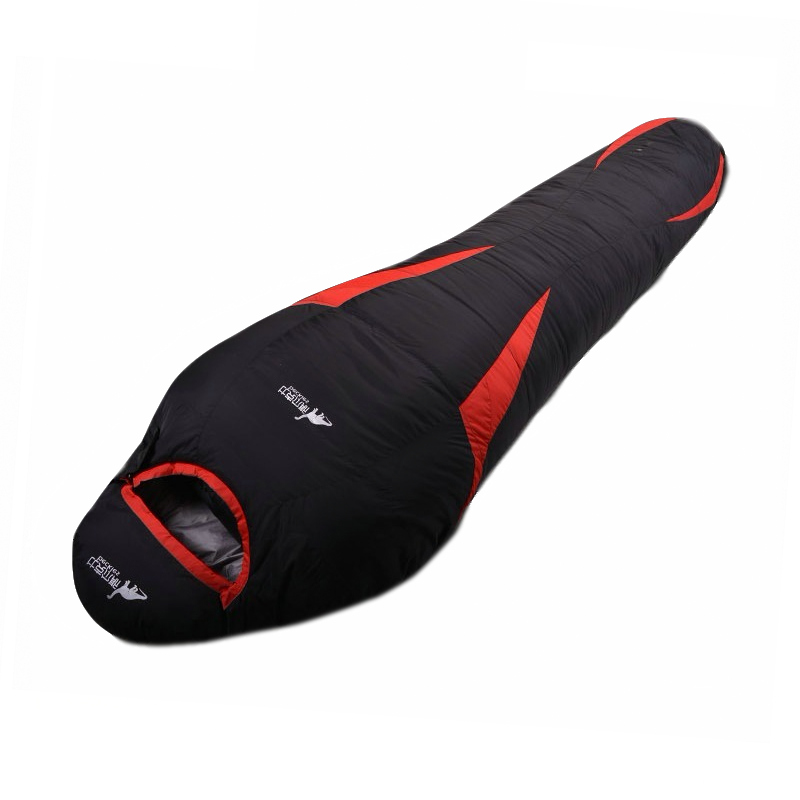 Portable Down Sports Hiking Sleeping Bags Outdoor Autumn Winter Camping Duck Down Adult Mummy Waterproof Sleeping Bags-in Sleeping Bags from Sports & Entertainment    2