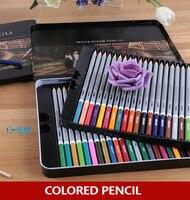 Lápis coloridos em aquarela  alta qualidade  24 / 36 /48 cores  profissional  para pintura  desenho