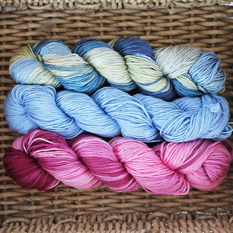 10 50g hank 100 bamboo yarn wholesale price hand knitting yarn free shipping Bamboo soft DIY