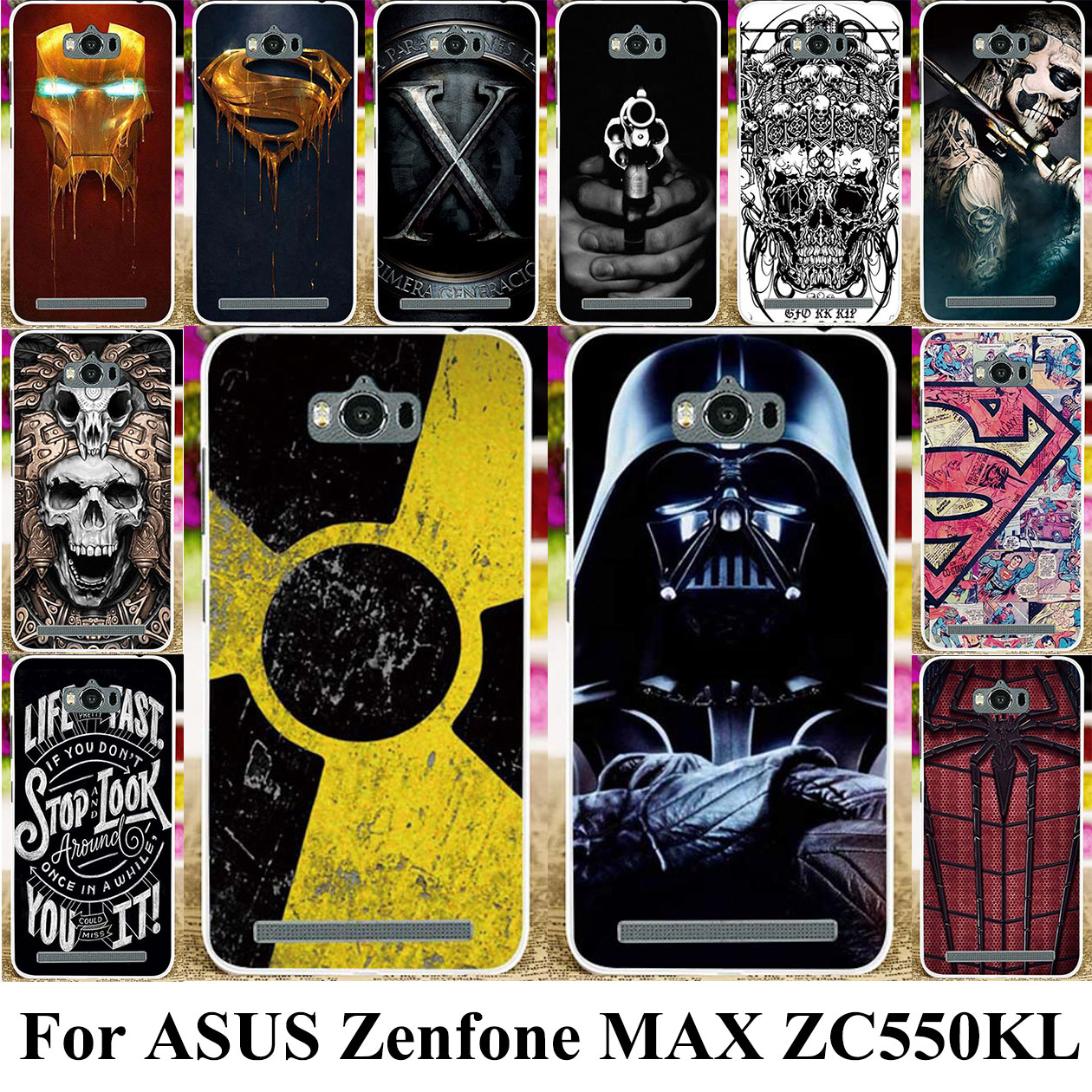 TPU Silicone Phone Case For <font><b>ASUS</b></font> Zenfone MAX <font><b>ASUS</b></font>_<font><b>Z010DD</b></font> Z010D ZC550KL Z010DA 5.5 inch Bag Cover Case Cover image