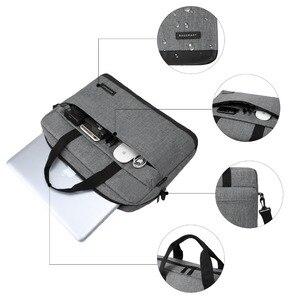 BAGSMART جديد الرجال 15.6 بوصة محمول حقيبة حقيبة يد رجل النايلون حقيبة الرجال حقائب مكتبية الأعمال حقائب كمبيوتر