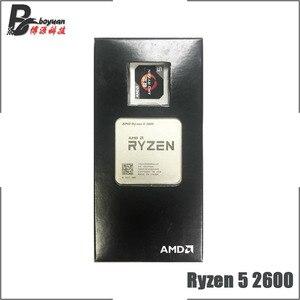 Image 2 - AMD Ryzen 5 2600 R5 2600 3.4 GHz Six Core Twelve Thread CPU Processor YD2600BBM6IAF Socket AM4 New and with fan