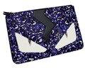 Envelope Evening Clutch Bag Monster Pattern Leather Genuine Women Messenger Bags Purses and Handbags Designer