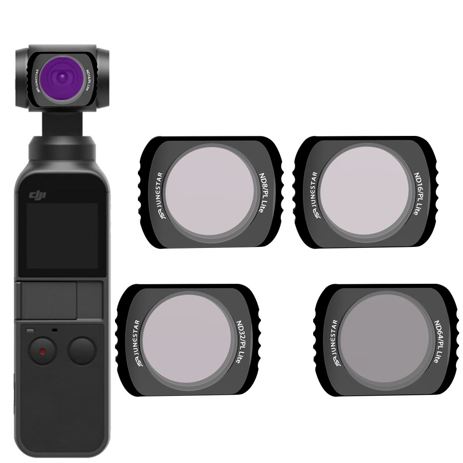OSMO POCKET NDPL64+ND8PL+ND16PL+ND32PL Filter Magnetic Adsorption For DJI OSMO POCKET  Accessories Camera Stabilizer Filter 4pcsOSMO POCKET NDPL64+ND8PL+ND16PL+ND32PL Filter Magnetic Adsorption For DJI OSMO POCKET  Accessories Camera Stabilizer Filter 4pcs